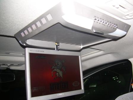 потолочный монитор в гибридной эстиме
