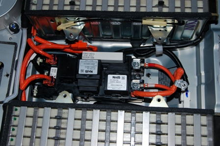 реле в гибридной батарее лексус rx400x