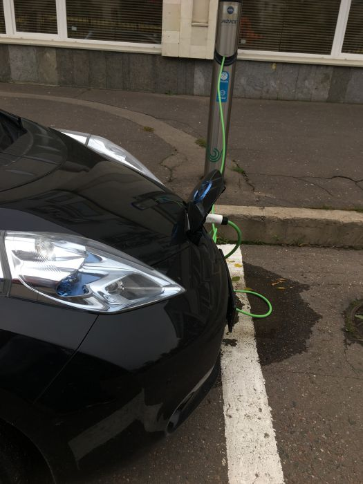 Зарядка электромобиля Type2