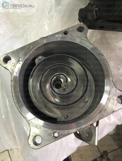 Mitsubishi i-MiEV на ремонте