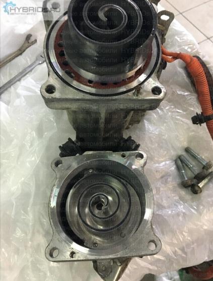 Mitsubishi на ремонте